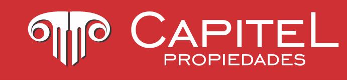 Logotipo Capitel Propiedades